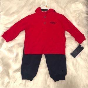 Tommy Hilfiger baby boy 2 pieces outfit